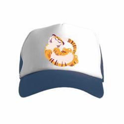 Дитяча кепка-тракер Happy tiger