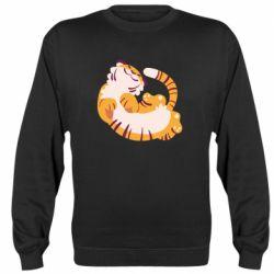 Реглан (свитшот) Happy tiger