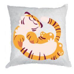 Подушка Happy tiger