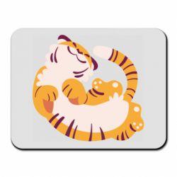 Килимок для миші Happy tiger