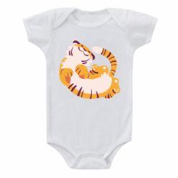 Детский бодик Happy tiger