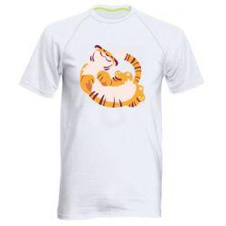 Чоловіча спортивна футболка Happy tiger