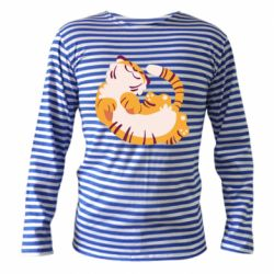 Тельняшка с длинным рукавом Happy tiger