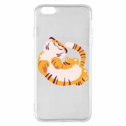 Чохол для iPhone 6 Plus/6S Plus Happy tiger