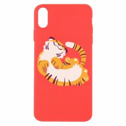 Чохол для iPhone X/Xs Happy tiger
