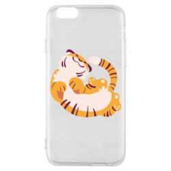Чохол для iPhone 6/6S Happy tiger