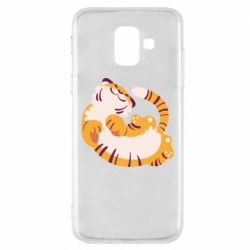 Чохол для Samsung A6 2018 Happy tiger