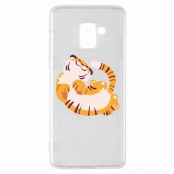 Чохол для Samsung A8+ 2018 Happy tiger