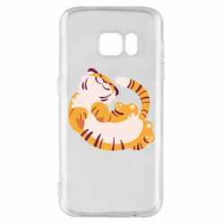 Чохол для Samsung S7 Happy tiger