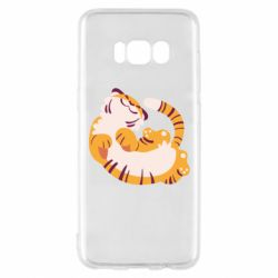 Чохол для Samsung S8 Happy tiger