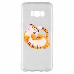 Чохол для Samsung S8+ Happy tiger