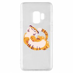 Чохол для Samsung S9 Happy tiger