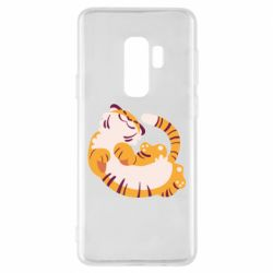 Чохол для Samsung S9+ Happy tiger