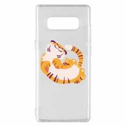 Чохол для Samsung Note 8 Happy tiger