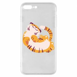 Чохол для iPhone 8 Plus Happy tiger