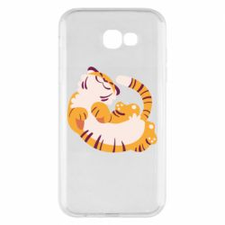 Чохол для Samsung A7 2017 Happy tiger