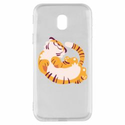 Чохол для Samsung J3 2017 Happy tiger