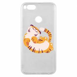 Чехол для Xiaomi Mi A1 Happy tiger