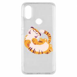 Чехол для Xiaomi Mi A2 Happy tiger
