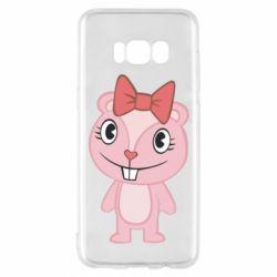Чехол для Samsung S8 happy tree friends giggles - FatLine