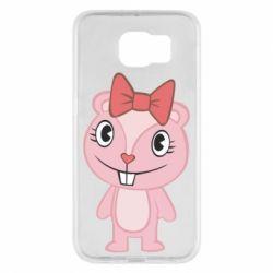 Чехол для Samsung S6 happy tree friends giggles - FatLine