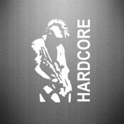 Наклейка Harcore - FatLine