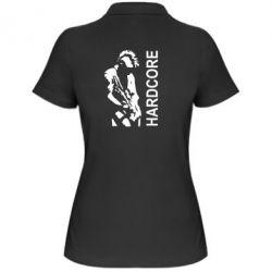 Женская футболка поло Harcore - FatLine