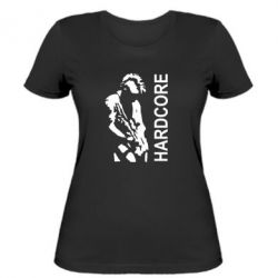 Женская футболка Harcore - FatLine
