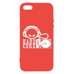 Чехол для iPhone5/5S/SE Hard Core - FatLine