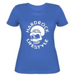 Женская футболка Hardrock lifestyle - FatLine