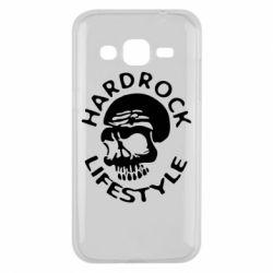 Чехол для Samsung J2 2015 Hardrock lifestyle - FatLine