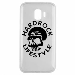 Чехол для Samsung J2 2018 Hardrock lifestyle - FatLine