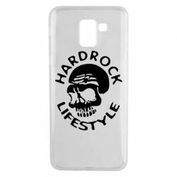 Чехол для Samsung J6 Hardrock lifestyle - FatLine