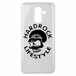 Чехол для Samsung J8 2018 Hardrock lifestyle - FatLine