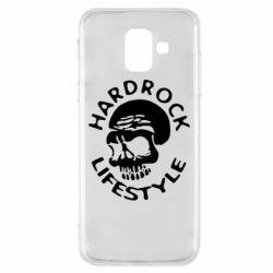 Чехол для Samsung A6 2018 Hardrock lifestyle - FatLine