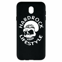 Чехол для Samsung J7 2017 Hardrock lifestyle - FatLine