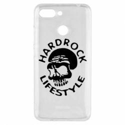 Чехол для Xiaomi Redmi 6 Hardrock lifestyle - FatLine