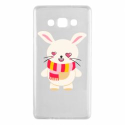 Чехол для Samsung A7 2015 Hare and heart