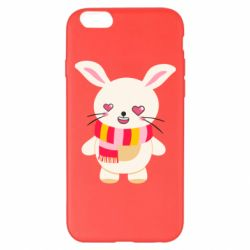 Чехол для iPhone 6 Plus/6S Plus Hare and heart