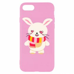 Чехол для iPhone 7 Hare and heart