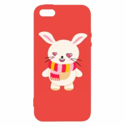 Чехол для iPhone5/5S/SE Hare and heart