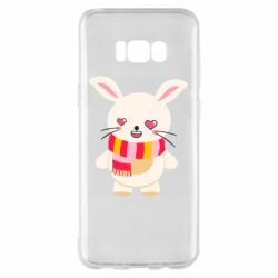 Чехол для Samsung S8+ Hare and heart