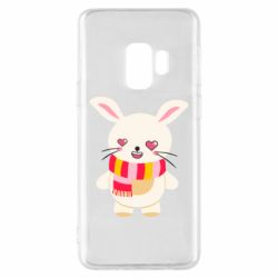 Чехол для Samsung S9 Hare and heart