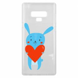 Чехол для Samsung Note 9 Hare with a heart
