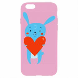 Чехол для iPhone 6/6S Hare with a heart