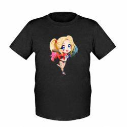 Дитяча футболка Harley quinn anime about tits