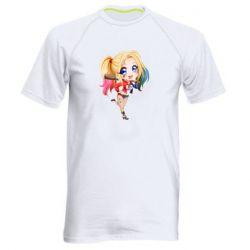 Чоловіча спортивна футболка Harley quinn anime about tits
