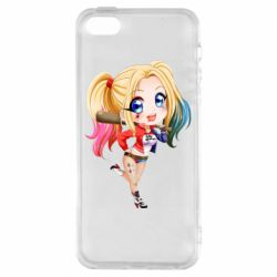 Чохол для iphone 5/5S/SE Harley quinn anime about tits
