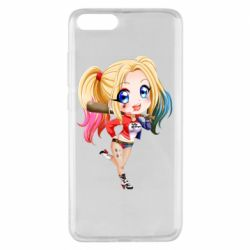 Чехол для Xiaomi Mi Note 3 Harley quinn anime about tits