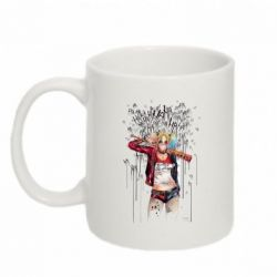 Кружка 320ml Harley Quinn Art